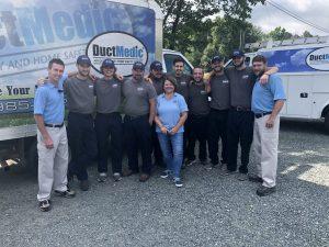 charlottesville duct medic crew